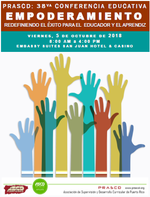 Cartel 38 Conferencia Anual PRASCD